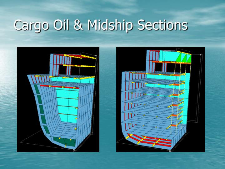 Cargo Oil & Midship Sections
