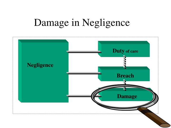 Damage in negligence1
