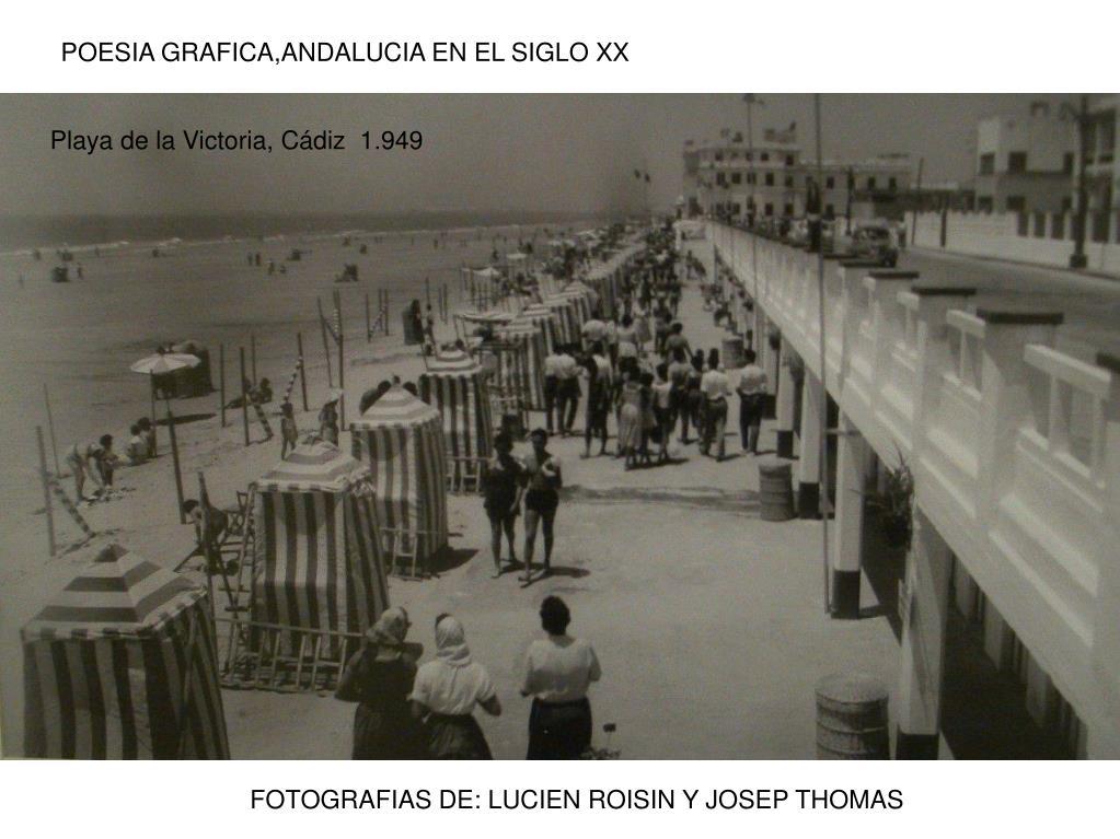 POESIA GRAFICA,ANDALUCIA EN EL SIGLO XX