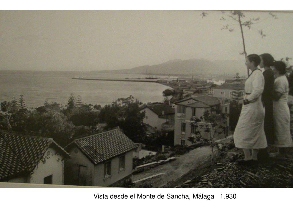 Vista desde el Monte de Sancha, Málaga   1.930