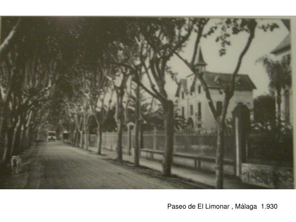 Paseo de El Limonar , Málaga  1.930