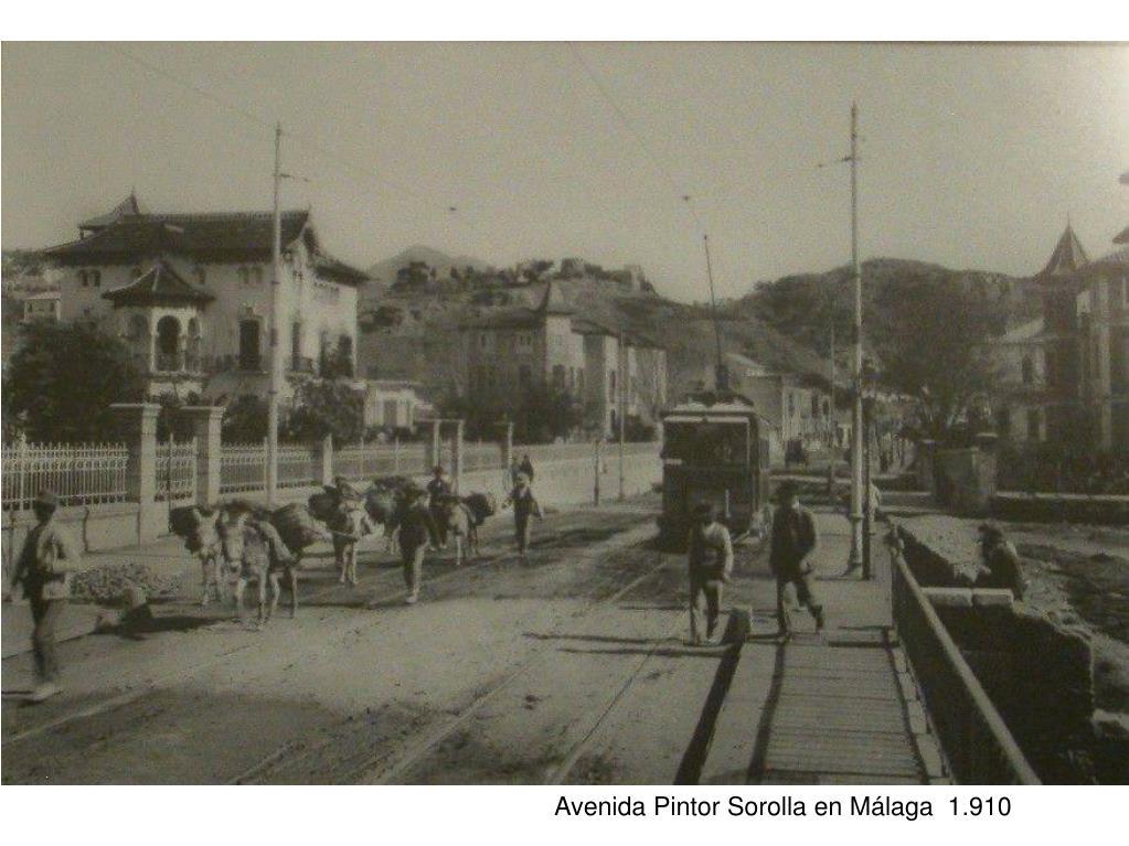 Avenida Pintor Sorolla en Málaga  1.910