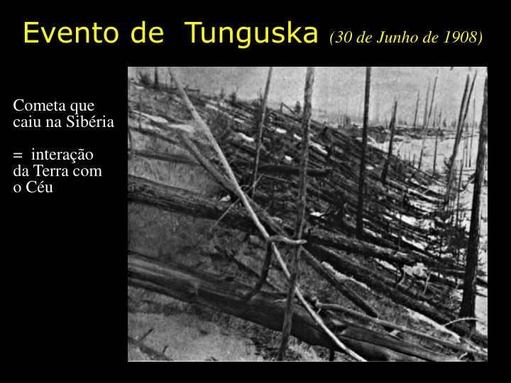 Evento de  Tunguska