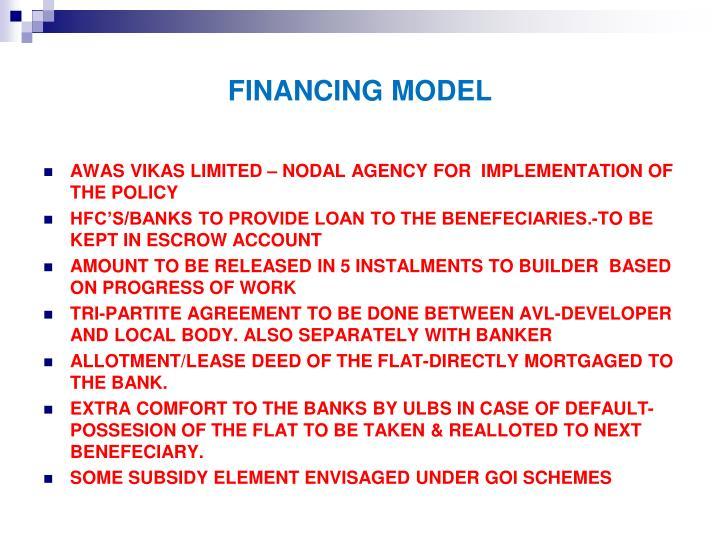 FINANCING MODEL