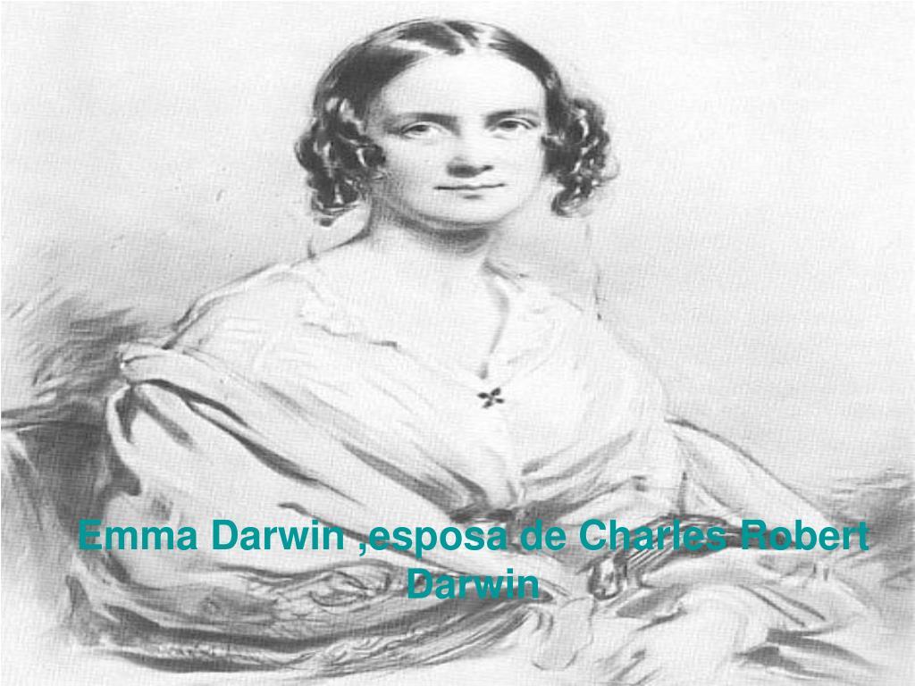 Emma Darwin ,esposa de Charles Robert Darwin