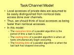 task channel model1