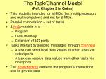 the task channel model ref chapter 3 in quinn