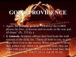 god s providence16