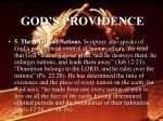 god s providence22