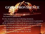 god s providence23