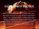 god s providence25