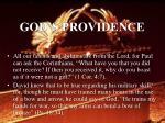 god s providence26
