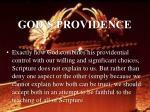 god s providence29