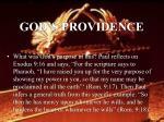 god s providence34