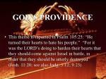god s providence36