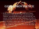 god s providence37