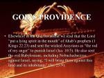 god s providence38