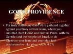 god s providence40