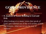 god s providence41