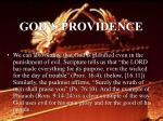 god s providence43