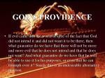 god s providence47