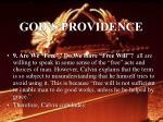 god s providence49