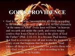 god s providence55