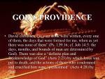 god s providence58