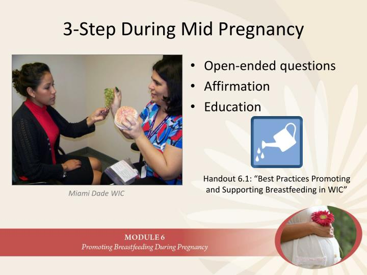 3-Step During Mid Pregnancy