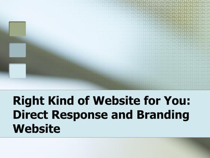 Right kind of website for you direct response and branding website l.jpg