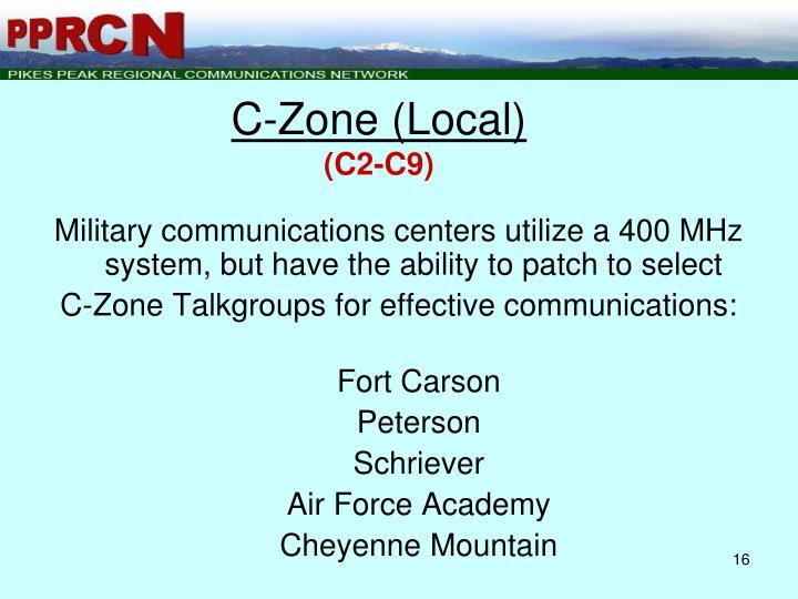 Ppt Pprcn Pikes Peak Regional Communications Network 800