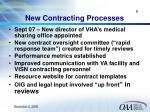 new contracting processes