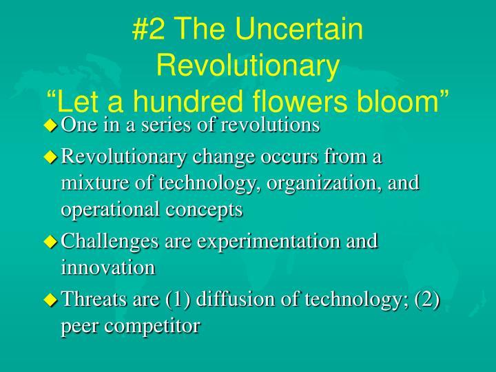 #2 The Uncertain Revolutionary
