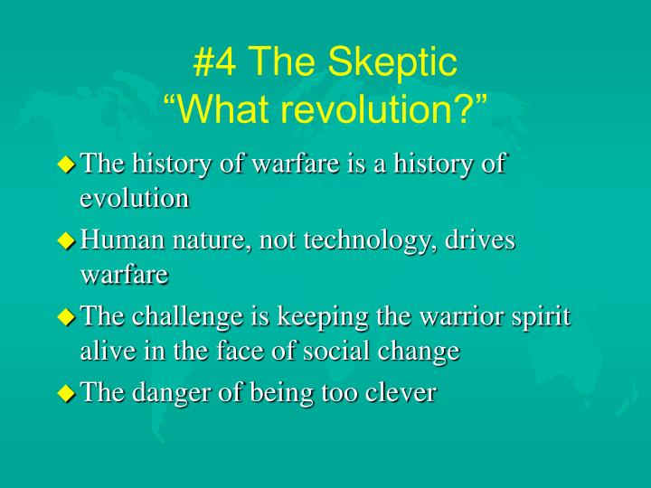 #4 The Skeptic