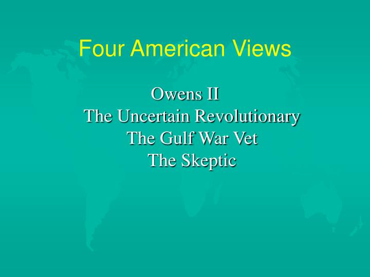 Four American Views