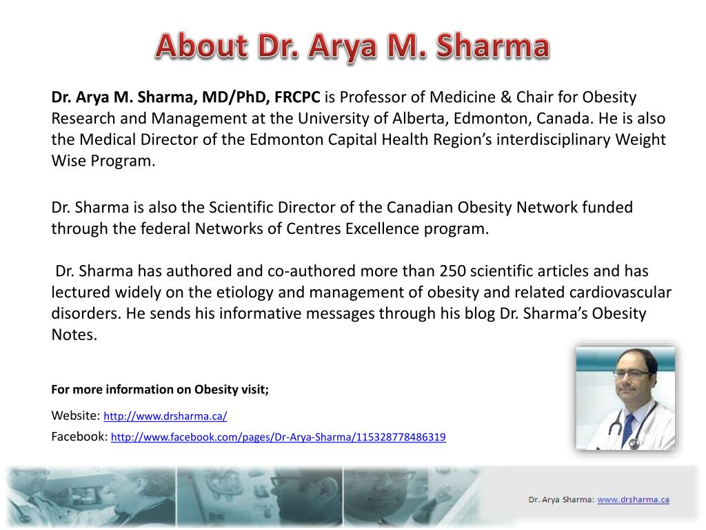 About Dr. Arya M. Sharma