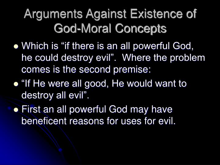 arguements for and against morality