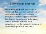 how we can help you124
