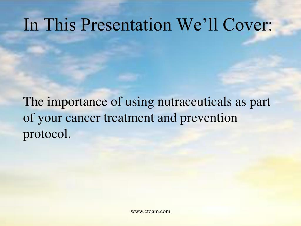 In This Presentation We'll Cover: