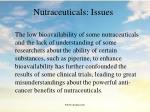 nutraceuticals issues112