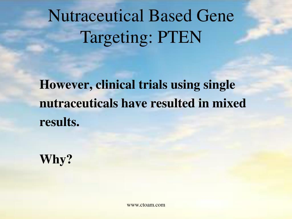 However, clinical trials using single