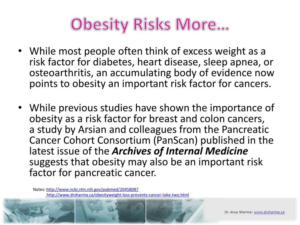 Obesity Risks More…