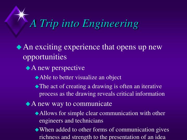 A Trip into Engineering