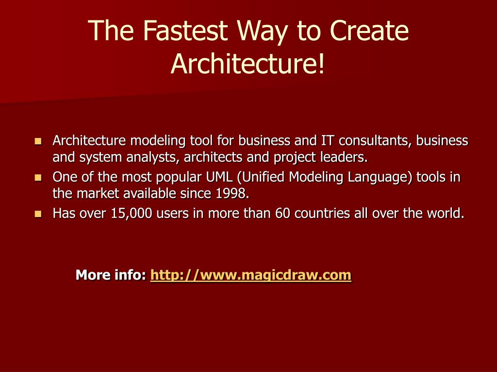 The Fastest Way to Create Architecture!