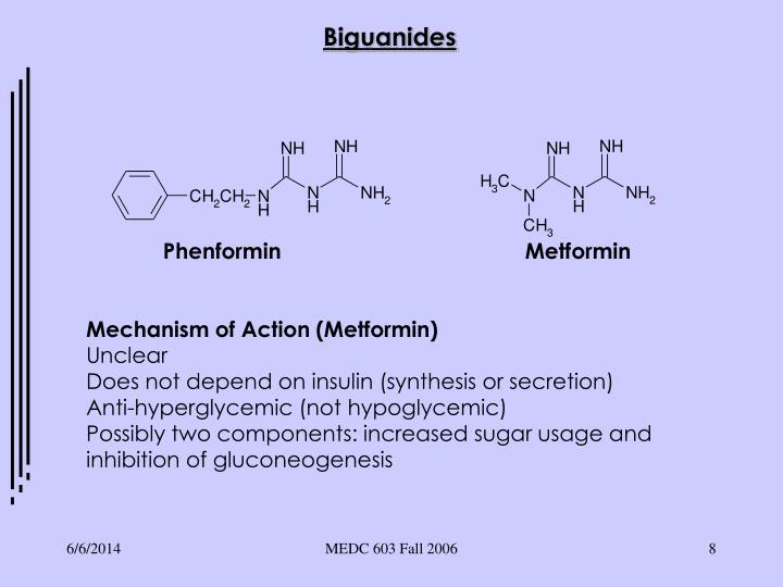 Phenformin                                        Metformin