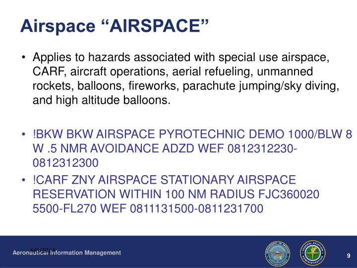 """Airspace """"AIRSPACE"""""""