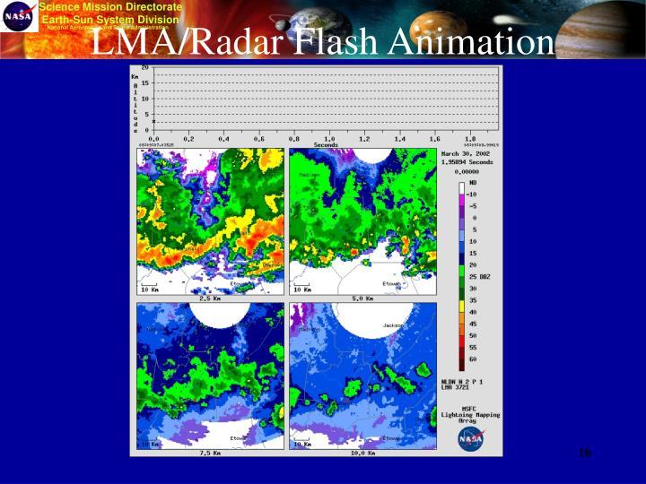 LMA/Radar Flash Animation