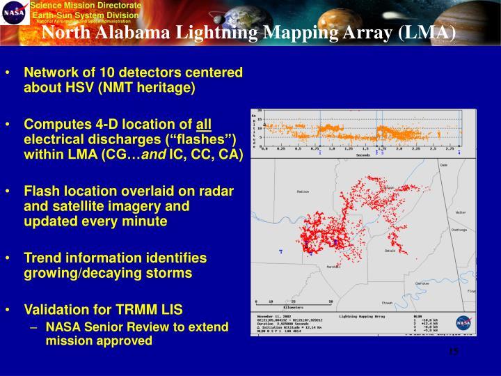 North Alabama Lightning Mapping Array (LMA)