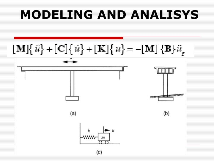 MODELING AND ANALISYS