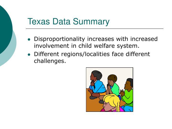 Texas Data Summary